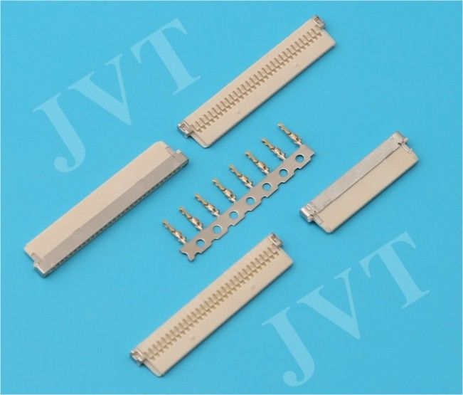 Nylon 66 UL94V-0 Housing LVDS Display Connector 1.0mm Pitch 20 / 30 Poles