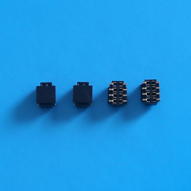 2.0mm Pitch Dual Row SMT 8 Pin Female Header Connector  without Locating Pegs