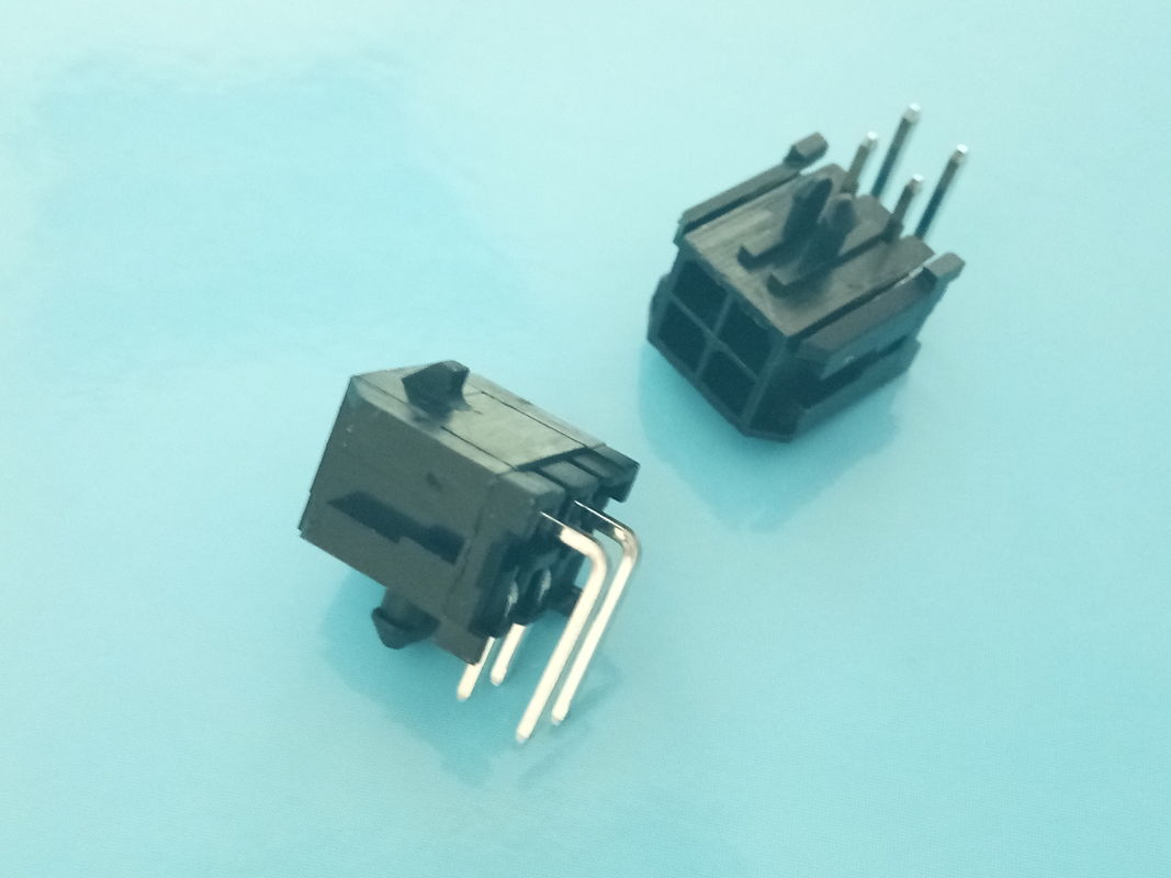 Right Angle Waterproof Automotive Connectors DIP Wafer Automotive Wire Connectors