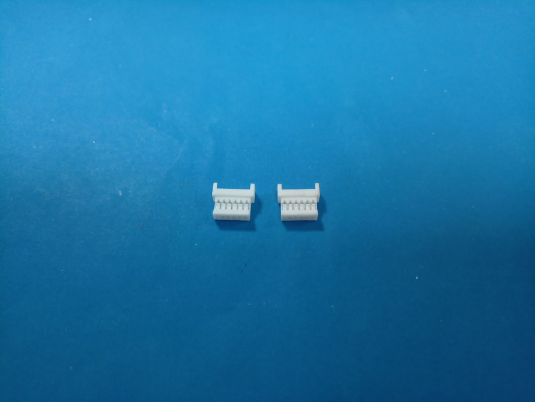 1.25mm Pitch 2-15 Poles Female Header Connectors 250V AC / DC Rating Voltage