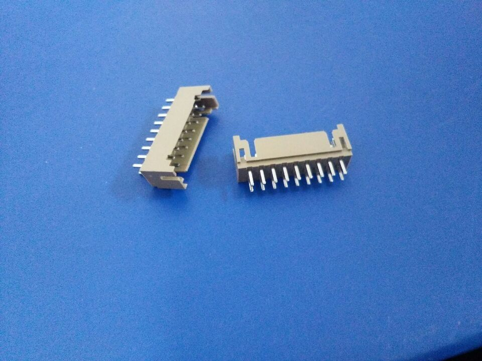 Dual Row 4~26 Pin DIP Wafer PC Board Connectors 2.0 Mm Pitch In White Color