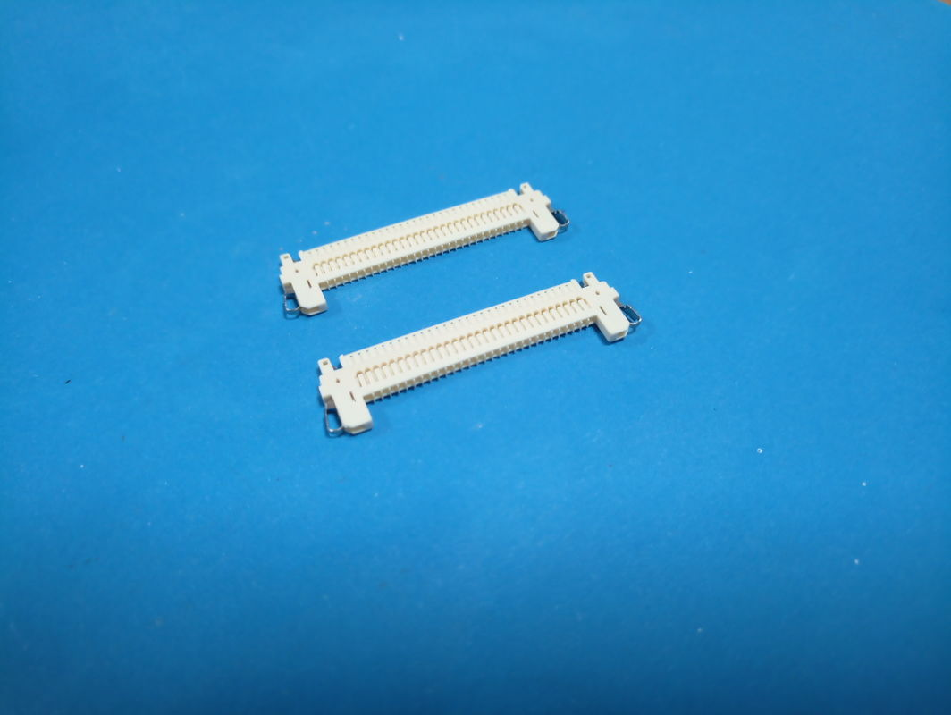 FI - X PCB Board Connector , Wafer 1 Mm Pin Connector Horizontal Type