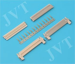 চীন FI-X Series Nylon 46 UL94V-0 Beige 1.0mm 30 Pin LVDS Connectors for Thin LCD Interface পরিবেশক