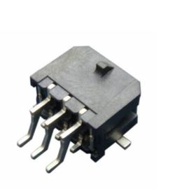 চীন Right Angle Dual Row SMT Header Connector With Solder Pitch 3.0mm Microfit SMT 43045 কারখানা